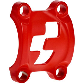 Cube Front Plates Pince pour potence, red